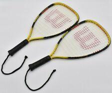 New listing Wilson Racquetball Racquet XS 3-7/8 Titanium Ripper Power Bundle of 2