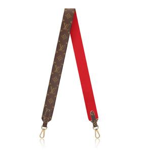 ❤️NEW LOUIS VUITTON BANDOULIÈRE Wide Shoulder Strap Monogram Red SOLD OUT RARE!