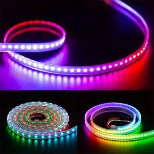 WS2812B LED Strip Light 1-5M 30/60/100/144LEDs/M TV RGB DC 5V Light WS2812E IC