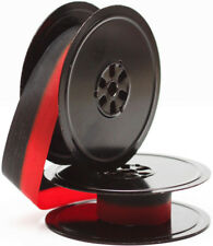 Metal Spools With New Black Red Ribbon For Royal Manual Portable Typewriter