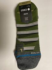 Stance Athletic Feel 360, Infiknit, Large (9-13), Combat Tab, Green, NWT