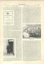 1896 La dernière Gretna Green the Johnson Club Hiver Supper Dover Tempêtes