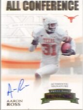 aaron ross rookie rc auto autograph jaguars texas longhorns college #/285
