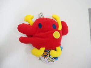 "Tamagotchi Yattachi Banpresto 2005 Case Pouch Plush 4"" TAG Toy Doll Japan"
