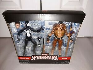 Marvel Legends Spider-Man 2-Pack Target Exclusive Symbiote Spiderman Kraven NEW