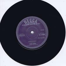 TOM JONES - BREATHLESS / CHILLS & FEVER - KILLER ROCKIN' 1st 45 FOR TOM - REPRO