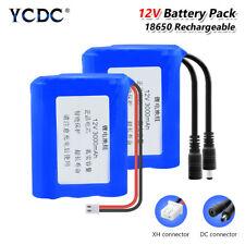18650 Batería 12V 3/6/9 * paquete de células Recargable Li-Ion baterías de backup Hágalo usted mismo BB1