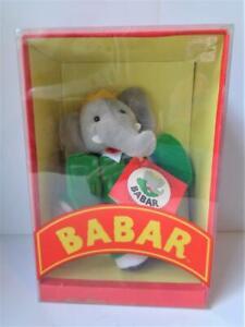 "8"" Gund Babar the Elephant Plush Toy Stuffed Animal New in Box #7780"