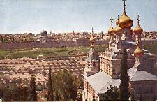 POSTCARD / CP / ISRAEL / JERUSALEM DU MONT DES OLIVIERS  PHOTO CHOUHA ALEP SYRIE