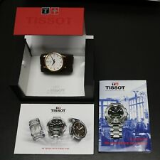 Tissot T Classic Tradition 1853 Gold Tone White Dial Date Swiss Watch T063610a
