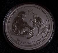 2016 5 oz Silver Australian Year of the Monkey Coin Bullion Australia