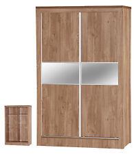Modern DESIGNER Holland Oak Single 3ft Bed Frame Wooden Bedroom Furniture