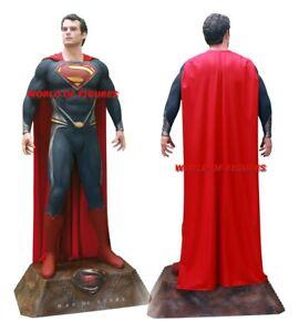 SUPERMAN - MAN OF STEEL * 1:1 FULL-LIFE-SIZE STATUE / FIGURE * MUCKLE - OXMOX