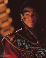 PETER WILLIAMS SIGNED AUTOGRAPHED 8x10 PHOTO APOPHIS STARGATE SG-1 BECKETT BAS