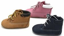 TIMBERLAND JUNIOR BABY GIRL BOY ANKLE BOOTS BOOTIES + CAP ART. A1LU3-9680R-9589R