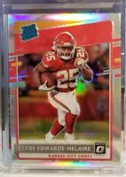 2020 Donruss Optic HOLO PRIZM Clyde Edwards Helaire SP RC #171 Chiefs Rookie 🔥