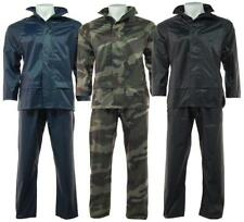 Arctic Storm Waterproof Rain Suit Hooded Jacket & Trousers Camo Set