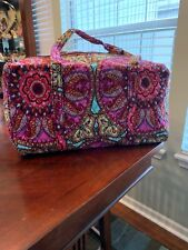 c9fd165c98b5 Vera Bradley Small Duffel Travel Bag Resort Medallion S Ships Quickly
