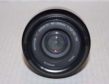 NIB Minolta Autofocus Maxxum 80-200MM  1:4.5 (22) -5.6 Zoom xi Lens Hood End Cap