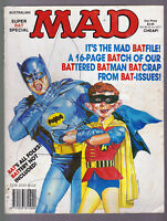 SUPER RARE Australian Mad Magazine SUPER BAT SPECIAL 1990 Vintage BATMAN