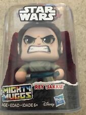 HOT NEW Star Wars Mighty Muggs Action Figures Wave 1 REY JAKKU AUTHENTIC