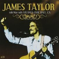 JAMES TAYLOR - LIVE 13th MAY 1981 ATLANTA CIVIC HALL CA 2CDs (New & Sealed)