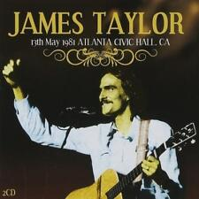 JAMES TAYLOR - LIVE 13th MAY 1981 ATLANTA CIVIC HALL CA 2CDs (New & Sealed)