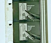 Advertising 16mm Film Reel - Westinghouse - Electric Knife & Television (X4)
