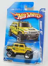 HOT WHEELS 2010 HW CITY WORKS '05 HUMMER H2 YELLOW PARK #113 FACTORY SEALED