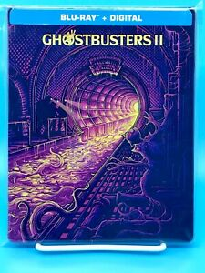 GHOSTBUSTERS 2 (Blu-ray, Best Buy Exclusive STEELBOOK)