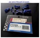 Vintage RC Duratrax DTXC9452 Blue Front Steering Bellcranks for Evader ST