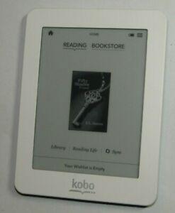 """White Kobo Mini N705 5"""" eReader - 2GB - WiFi - VGC - UK Seller"""