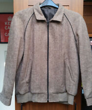 MENS M&S Vintage Wool CLASSIC BOMBER/ JACKET in Size UK Small (Chest 38)