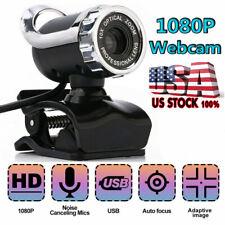 Hd 1080P Webcam Usb Computer Camera For Pc Laptop Desktop Video Cam Microphone