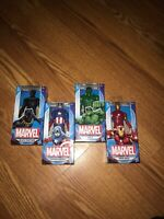 "Hasbro Marvel Avengers 6"" Figure Captain America Hulk Iron Man Black Panther Set"