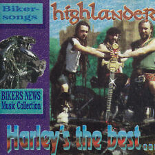 HIGHLANDER - CD - HARLEY'S THE BEST...