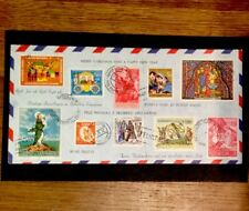 First Day Cover Christmas - 10 Countries Stamps