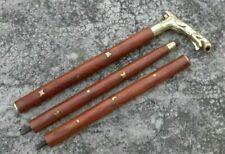 Jaguar Griff Messing Griff Nautical Cane Walking Stick Vintage Design Fashion De