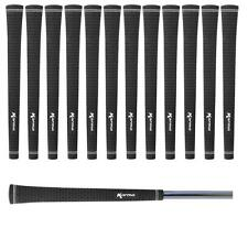 Set of 13 Karma Black Velvet Pride Jumbo Oversize Golf Grips 0.600 Round +1/16