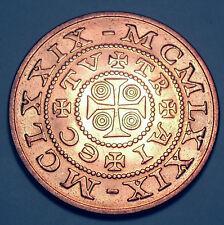 Netherlands Stad Montfoort 1329-1979 650 Years Unc 30mm G34
