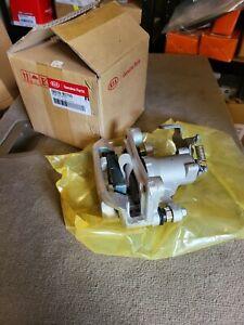 Kia Soul Rear LH Complete Brake Caliper with Pads . Genuine 58210B2700