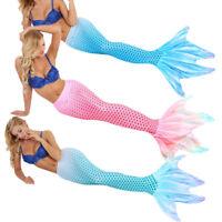 Women Girls Mermaid Tail Swimwear Swimming swimsuit Vacation Cosplay Costumes