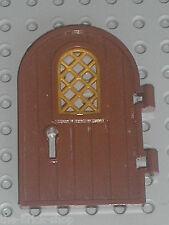 Porte LEGO Chateau castle door ref 64390 RedBrown / set 7946 10245 4738 4842 ...