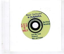 (HL48) Andy Gallagher & Overhaul, Hold Me Close - DJ CD + guitar pick