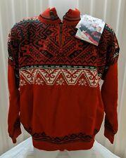 NWT Dale of Norway 100% Wool Sweater - Beautiful Nagano Pattern Unisex Size L
