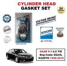 victor reinz Set Joint de culasse pour SAAB 9-3 9-5 2.2 TID Moteur D223L X22DTH