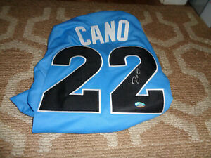 Robinson Cano Signed XL Jersey All Star Game Baseball Autograph 2017 Majestic