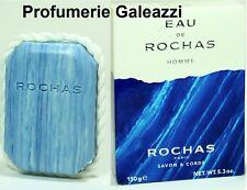 EAU DE ROCHAS HOMME SAVON ON ROPE - 150 g