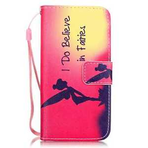 For iPhone 5/6/7/8/X Samsung Fashion Wallet Pattern Flip Leather Case Cover