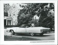 Cadillac Fleetwood Eldorado Convertible 1971 Original fotografía de prensa